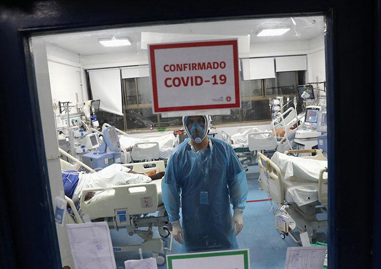 García: «Con esta cantidad de casos llegaríamos al 90 por ciento de ocupación de camas a fin de mes»