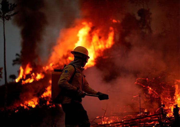 Los incendios en el Amazonas continúan y Bolsonaro dice que son una «mentira»