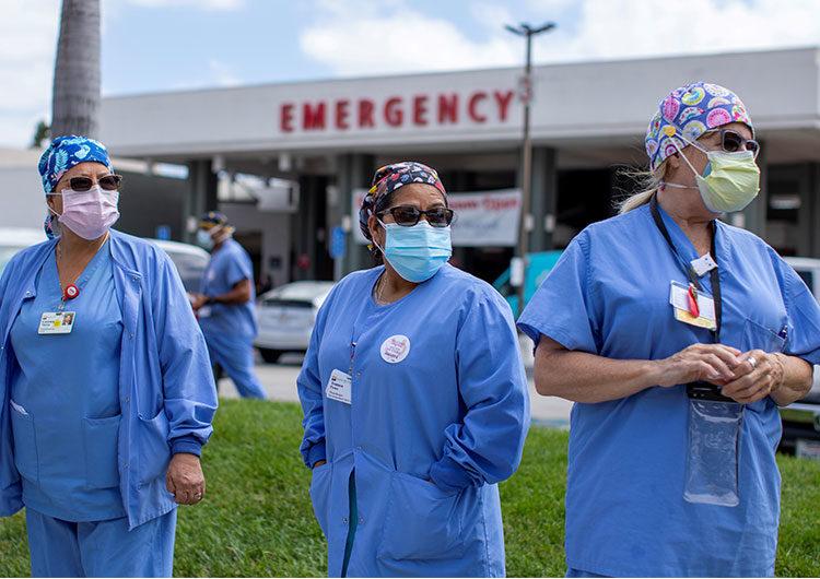La Cruz Roja reportó más de 600 incidentes violentos contra personal de salud y pacientes de Covid-19