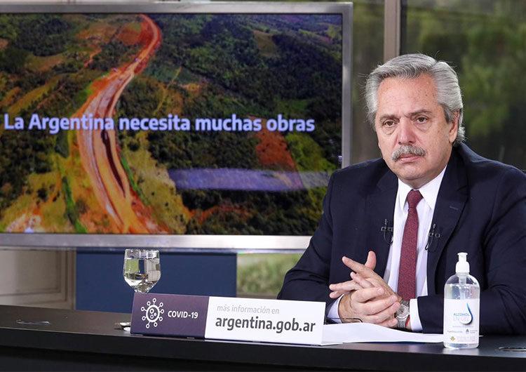 Anuncio de obras públicas: el plan reactivación del Gobierno