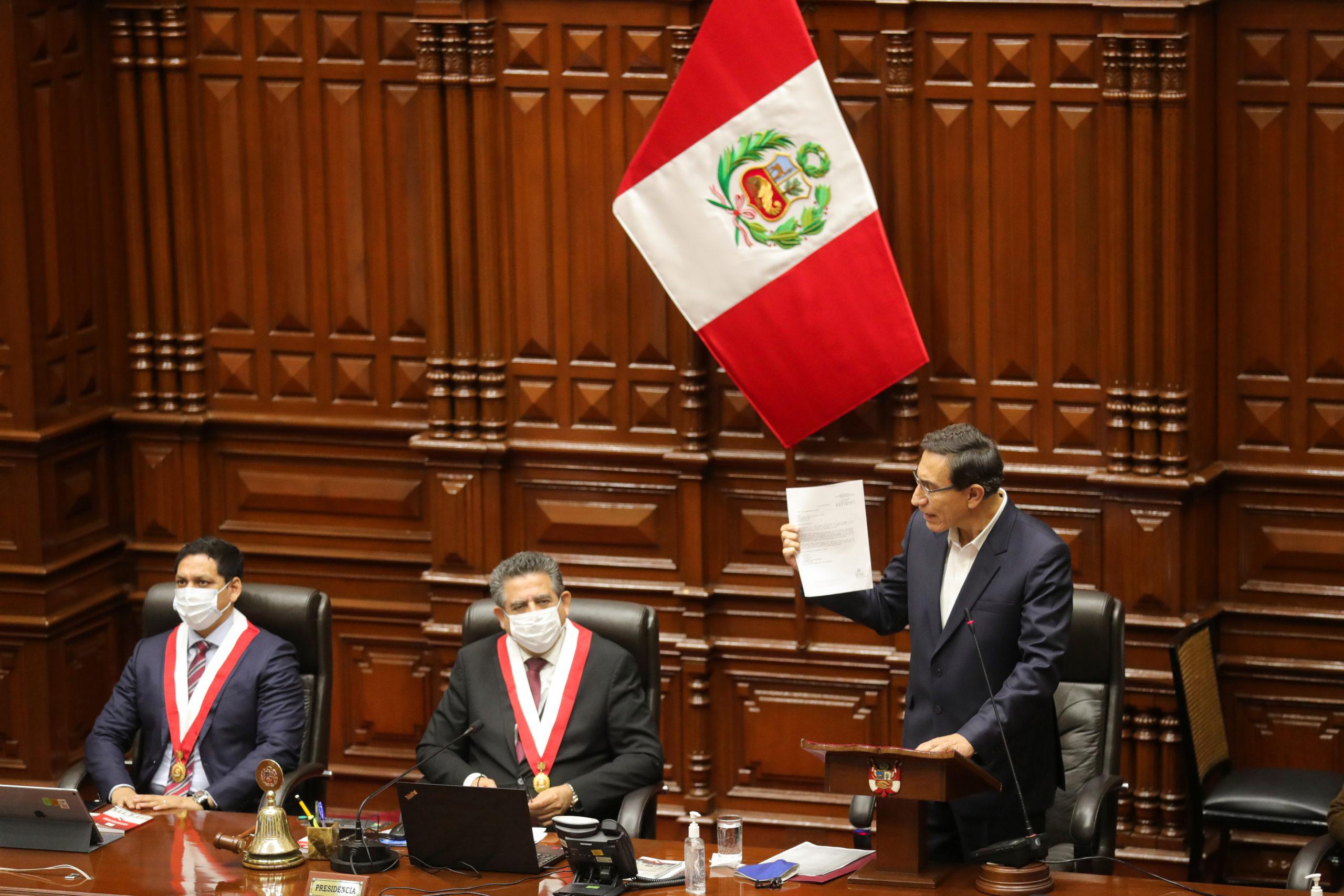 Fracasó el intento de destitución del Presidente Vizcarra en el Congreso de  Perú - NEWSWEEK ARGENTINA
