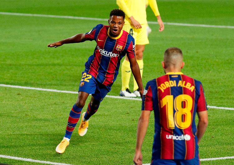 Goleada del FCB contra Villareal: Ansu Fati, la nueva estrella del Barça