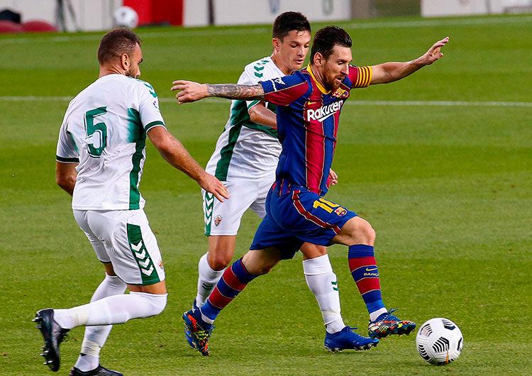 Messi lidera a Barcelona para ganar el Joan Gamper