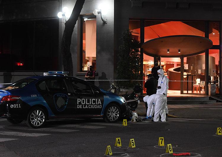 Murió el agresor que mató a puñaladas a un policía en pleno Palermo