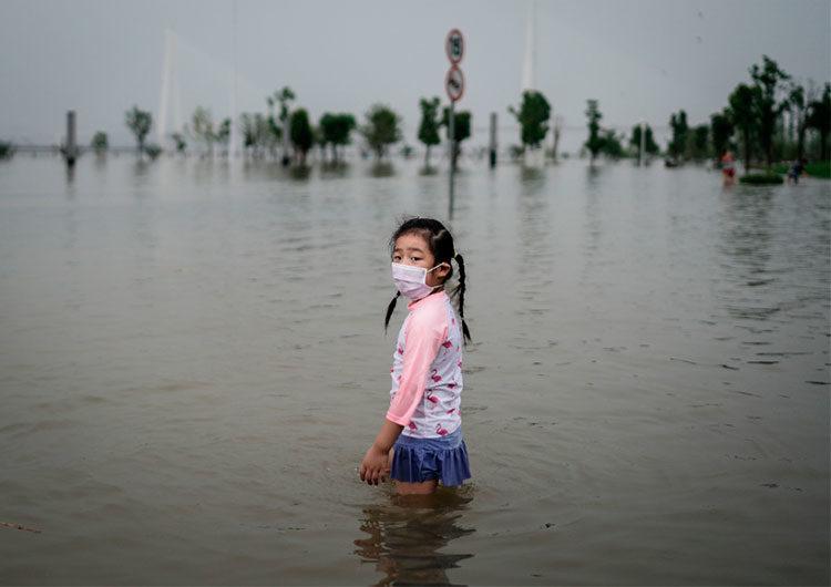 Catástrofes climáticas: las fotos más impactantes de 2020