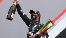 Hamilton ganó en Portugal, nuevo récord de victorias en la…