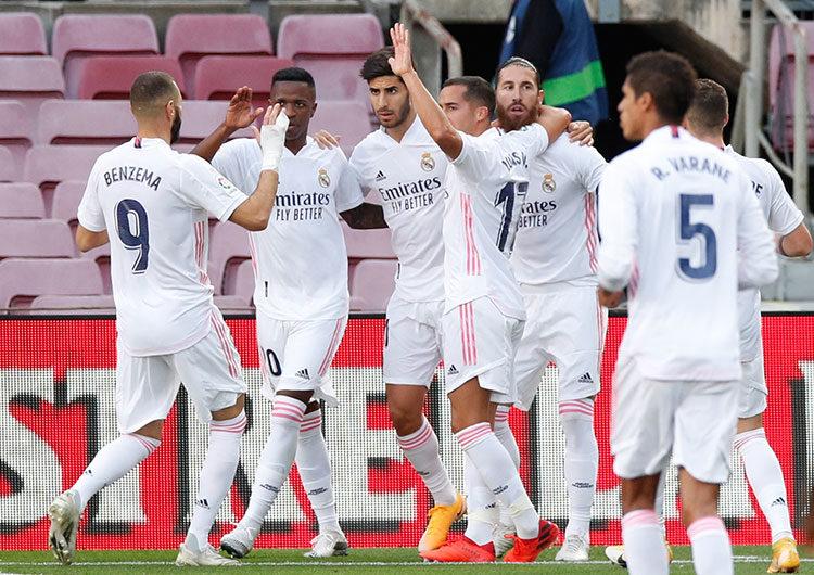 Real Madrid hundió al Barcelona 3-1