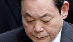 Murió el presidente del gigante Samsung Lee Kun-hee