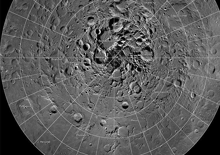 Hallazgo científico: el agua lunar es más común de lo que se pensaba