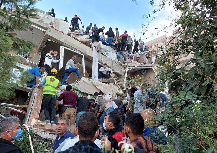 Al menos 14 muertos tras sismo en Grecia y Turquía