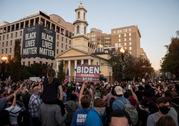 «Queremos algo a cambio de nuestro voto», dicen desde Black Lives Matter al solicitar una reunión con Biden