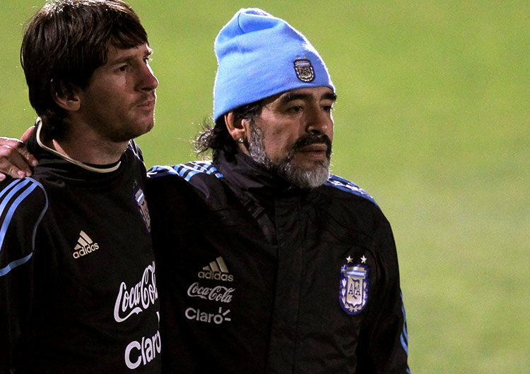 Las palabras de Messi y el Papa Francisco sobre la muerte de Maradona