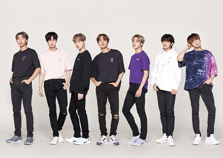 BTS: las estrellas de K-pop protagonizan la nueva cápsula de FILA Argentina