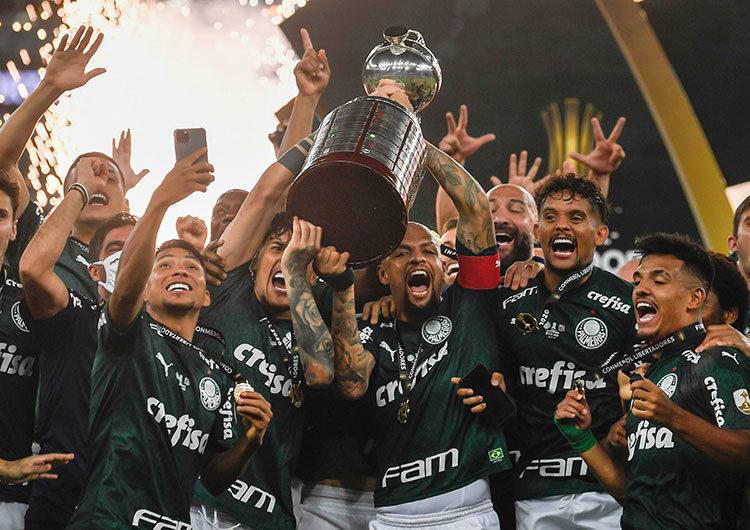 Palmeiras, campeón de América