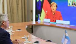 Merkel dialogó con el Presidente: «Siempre los hemos apoyado y…