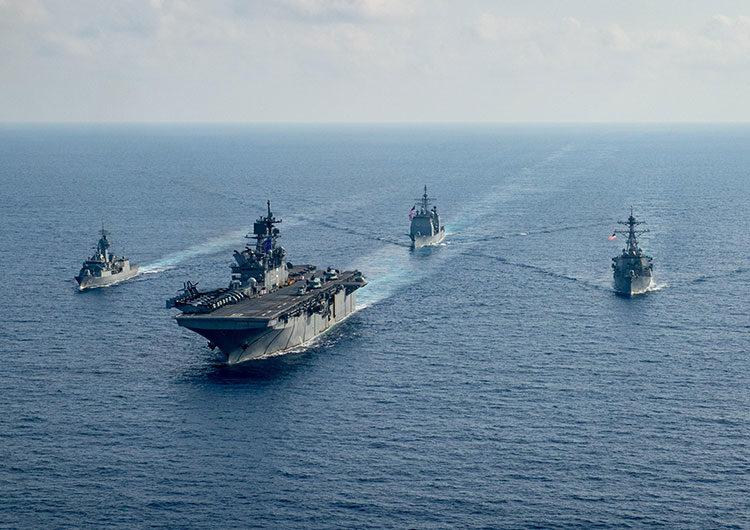 Pekín realizará prácticas militares en mar de China Meridional en medio de tensión con EEUU