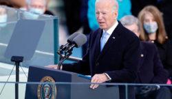 Discurso: Biden invocó a Lincoln en súplica por la unidad…