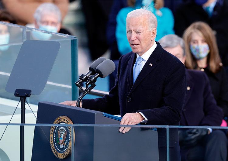 Discurso: Biden invocó a Lincoln en súplica por la unidad y el fin de la 'guerra incivil'