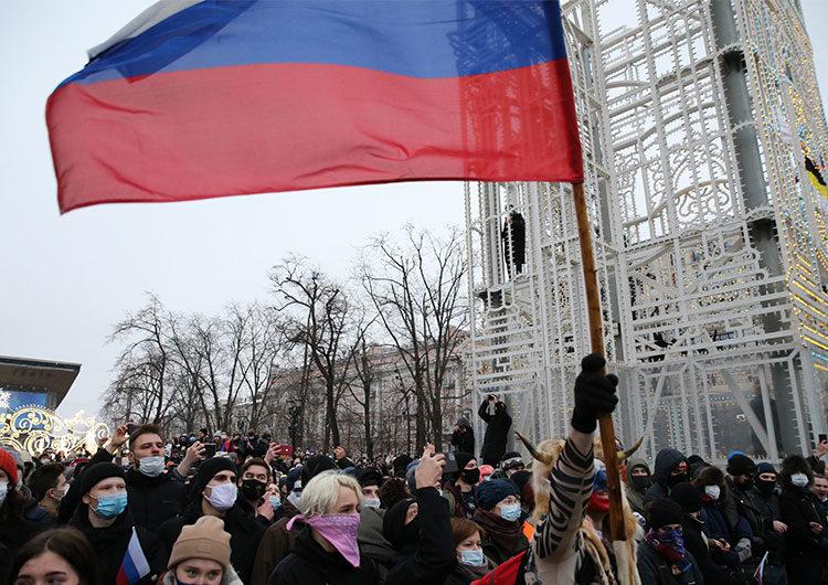 EEUU pide la liberación 'inmediata e incondicional' de Alexei Navalny