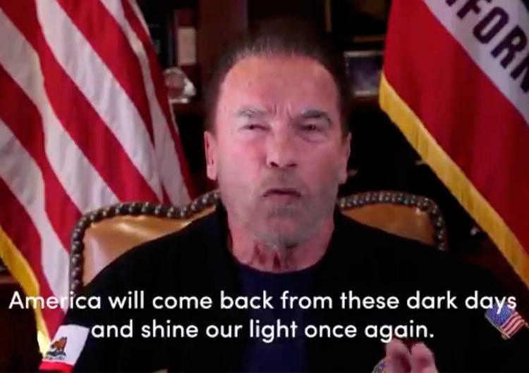 Schwarzenegger comparó el asalto al Capitolio de EEUU con la violencia nazi