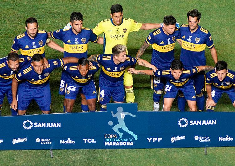 Boca Juniors vence a Banfield en penales y se consagra campeón de Copa Maradona en Argentina