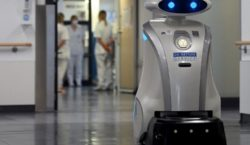 Franzi, el robot que limpia, canta y distrae a los…