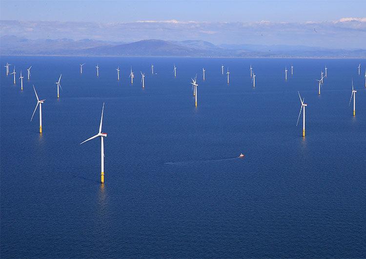 Corea del Sur revela un plan para la construir el mayor parque eólico marino del mundo