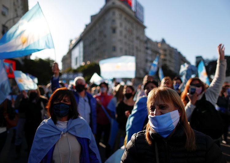 27F: marchas en todo el país contra la vacunación VIP