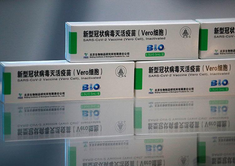 Llegó al país la segunda tanda de vacunas de Sinopharm contra coronavirus