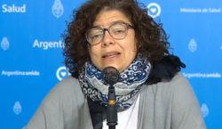 La ministra Vizzotti contrajo coronavirus y entró en aislamiento