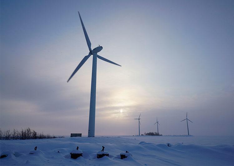 ¿Por qué se congelaron las turbinas eólicas en Texas cuando sí funcionan en el Ártico?