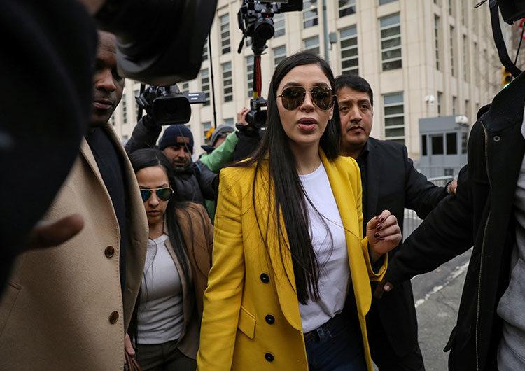EEUU: arrestaron a la esposa del capo narco mexicano «El Chapo» Guzmán