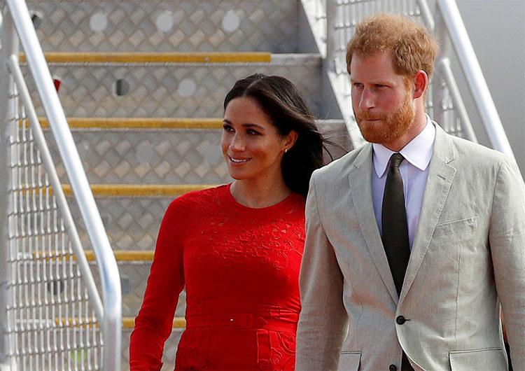 Harry y Meghan se separan definitivamente de la familia real británica