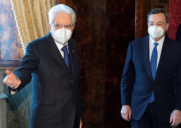 Mario Draghi inicia conversaciones para formar un nuevo gobierno en Italia