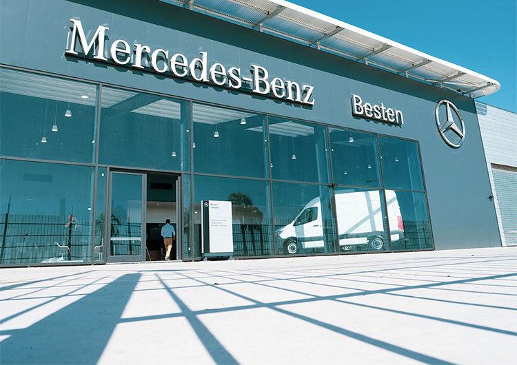 Con foco en camiones y vans, abrió un nuevo Concesionario Mercedes-Benz Besten en Cardales