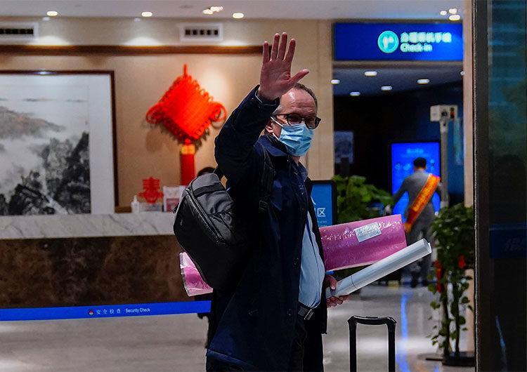 Termina la investigación de la OMS en Wuhan y continúa disputa entre EEUU y China