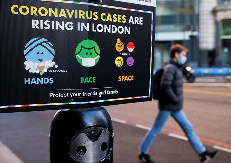 Reino Unido: la mutación «más preocupante» del coronavirus se dio de forma espontánea