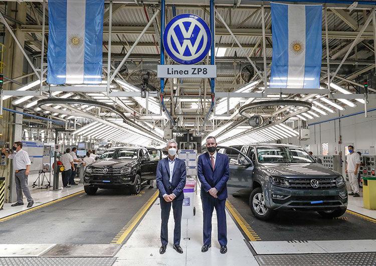 El ministro de Transporte de la Nación visitó Volkswagen para conocer los avances en tecnología e innovación argentinos