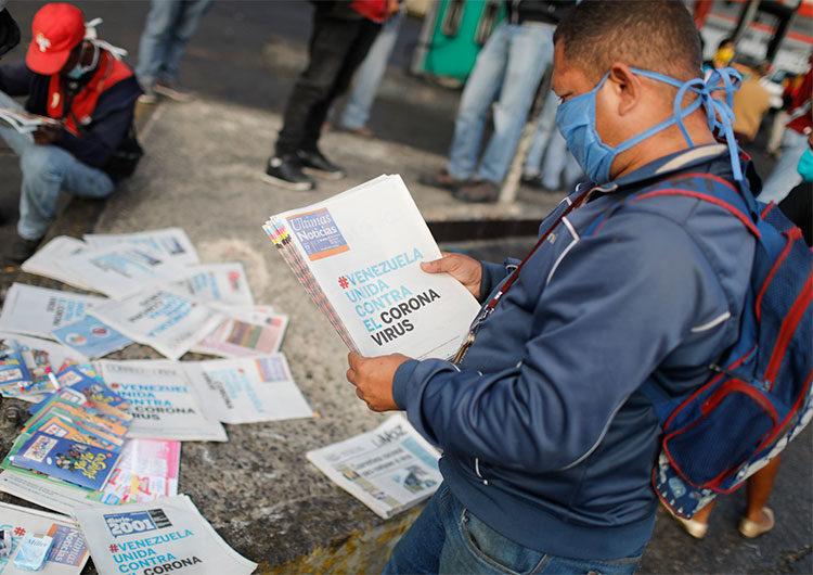 Una mujer venezolana ocultó su test positivo de Covid y murió toda su familia