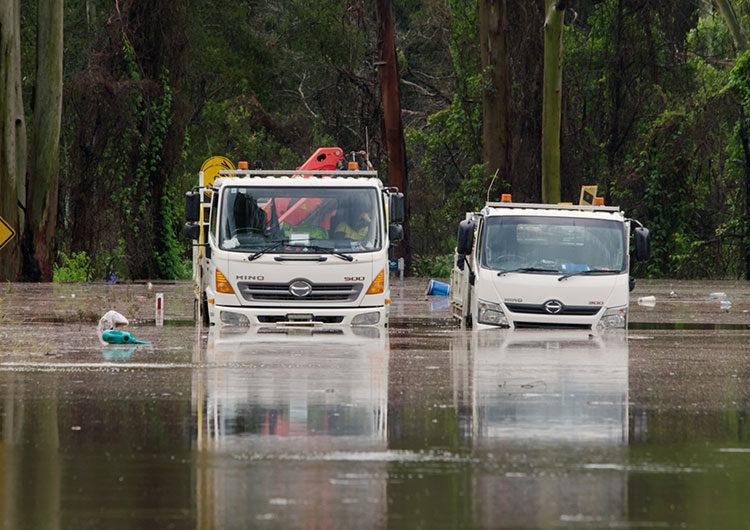 Fuertes lluvias e inundaciones azotan la costa este de Australia
