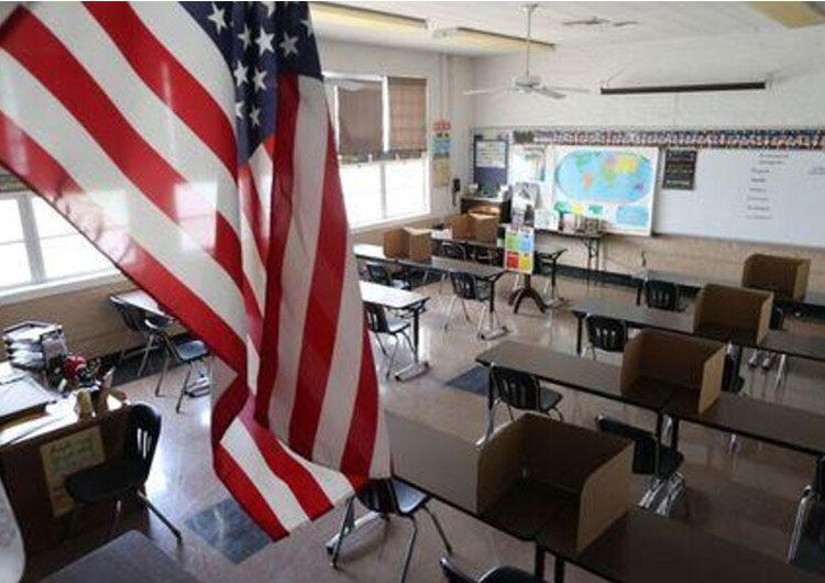 EE.UU.: reducen a un metro la distancia entre los alumnos en las escuelas