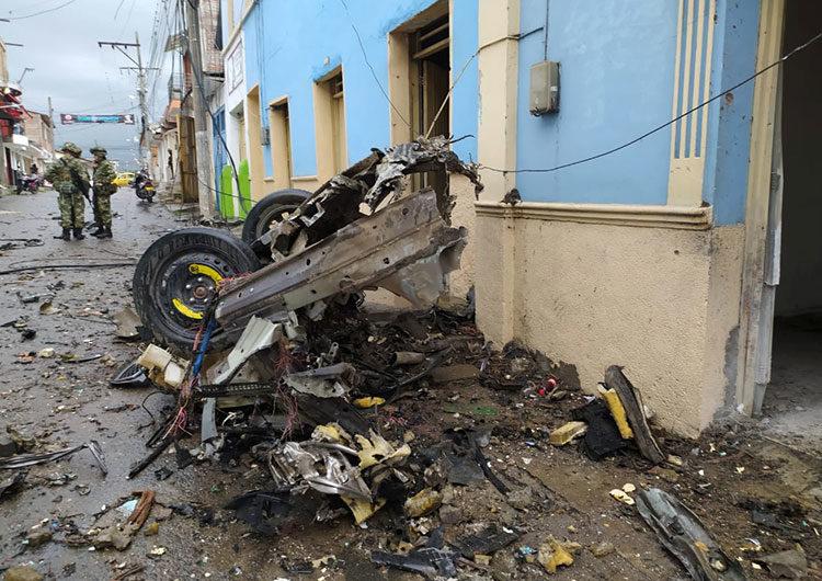 Colombia: más de 40 heridos por la explosión de un coche bomba