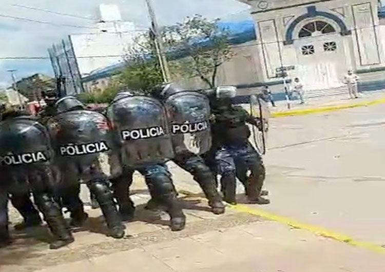 El ministro de Gobierno formoseño dijo que «no fue pacífica» la protesta y reivindicó la fase 1