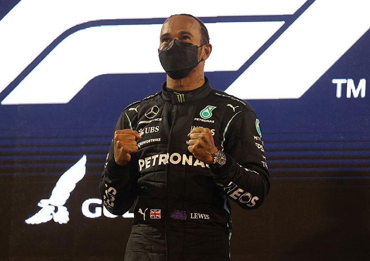 F1: Hamilton abrió la temporada con una victoria en Bahréin