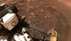 El explorador Perseverance recorrió sus primeros metros en Marte