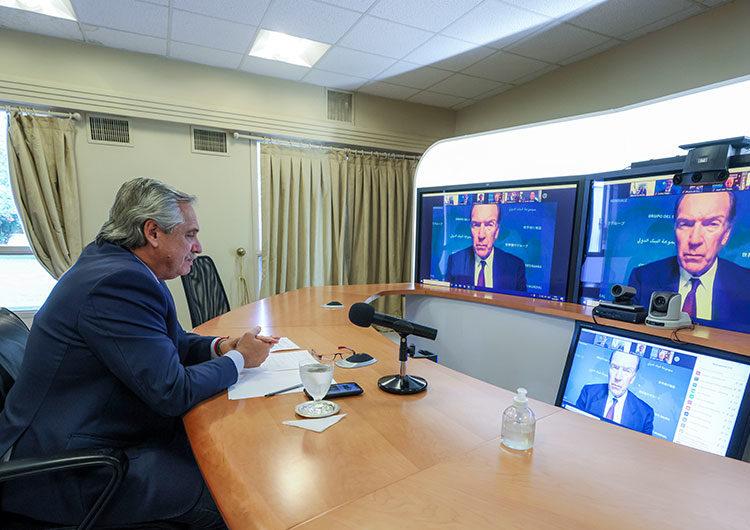 Titular del Banco Mundial le subrayó al Presidente la importancia de apoyar al sector privado