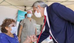Alberto Fernández defendió la política de vacunación de su gobierno