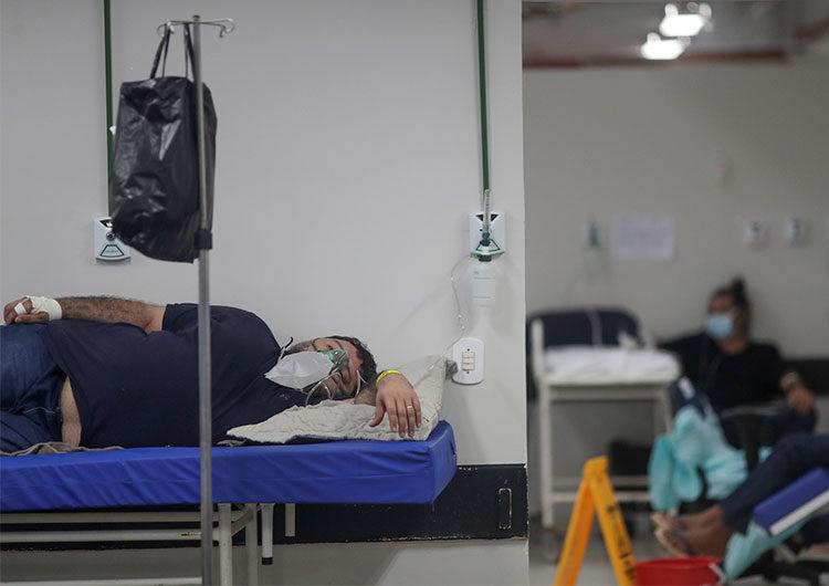 Brasil registra récord de 2.841 muertes por COVID; el total decesos supera los 282.000