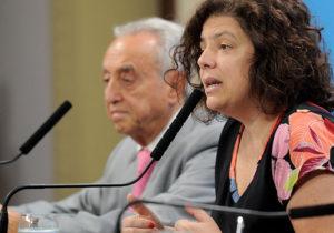 Vizzotti defiende restricciones en Senado y ratifica que hay tendencia a la baja de casos de Covid