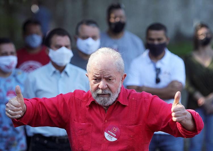 Crecen las esperanzas de Lula para elecciones 2022